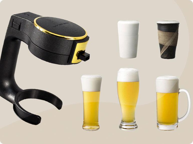 gadgets; foam brewers; beer foam; beer drinking gadgets; cool beer gadgets; foam on top of beer; best beer gadgets; beer foam head