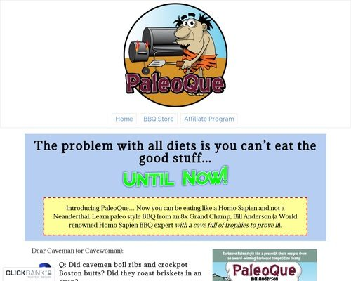 PaleoQue - Competition Quality Paleo BBQ for the Paleo Diet & Keto Diet 1