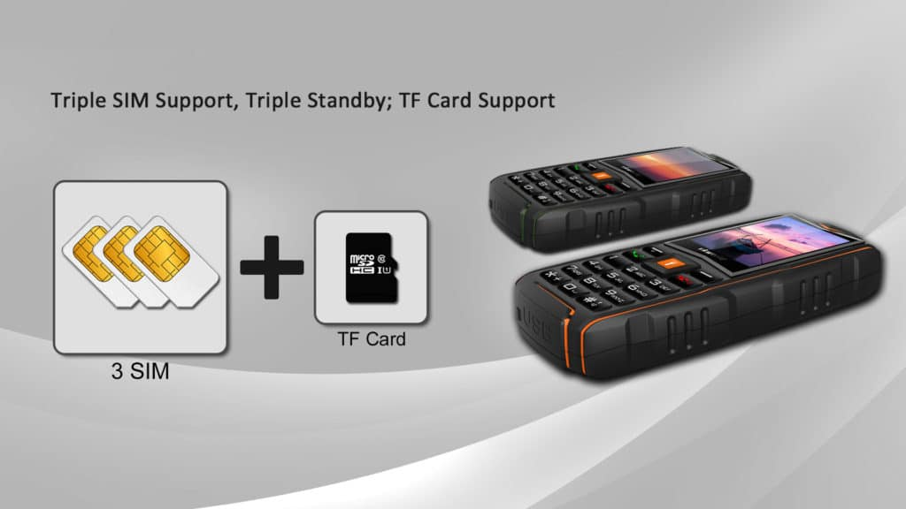 tactic phone x 3 sim smartphone