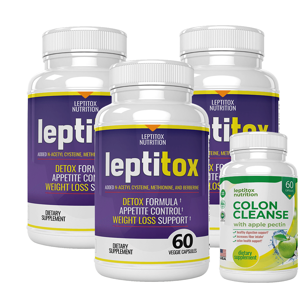 Leptitox: photo of 3 bottles of the product