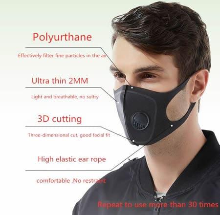 coronavirus mask oxybreath pro