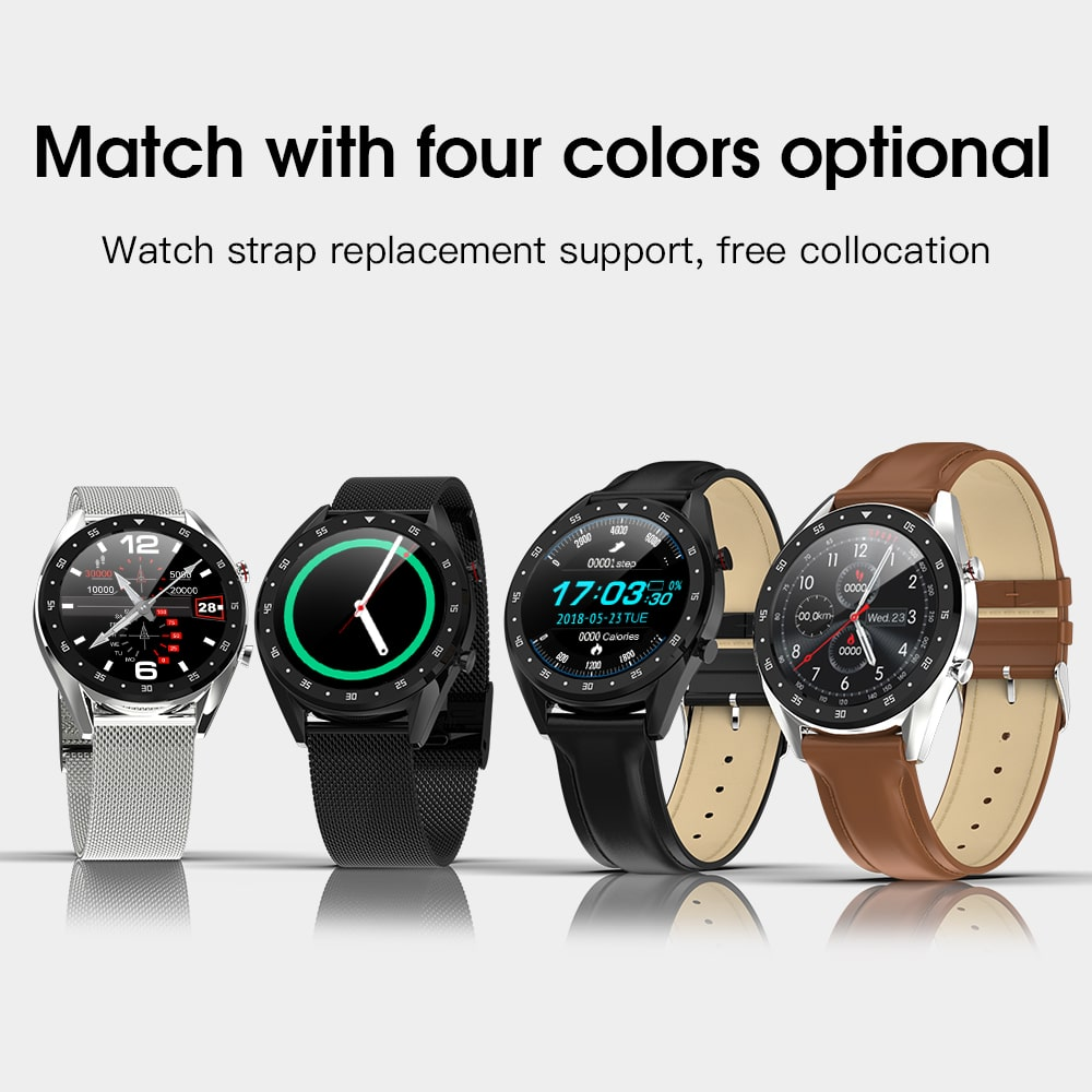 GX SmartWatch Review: 4 colors available