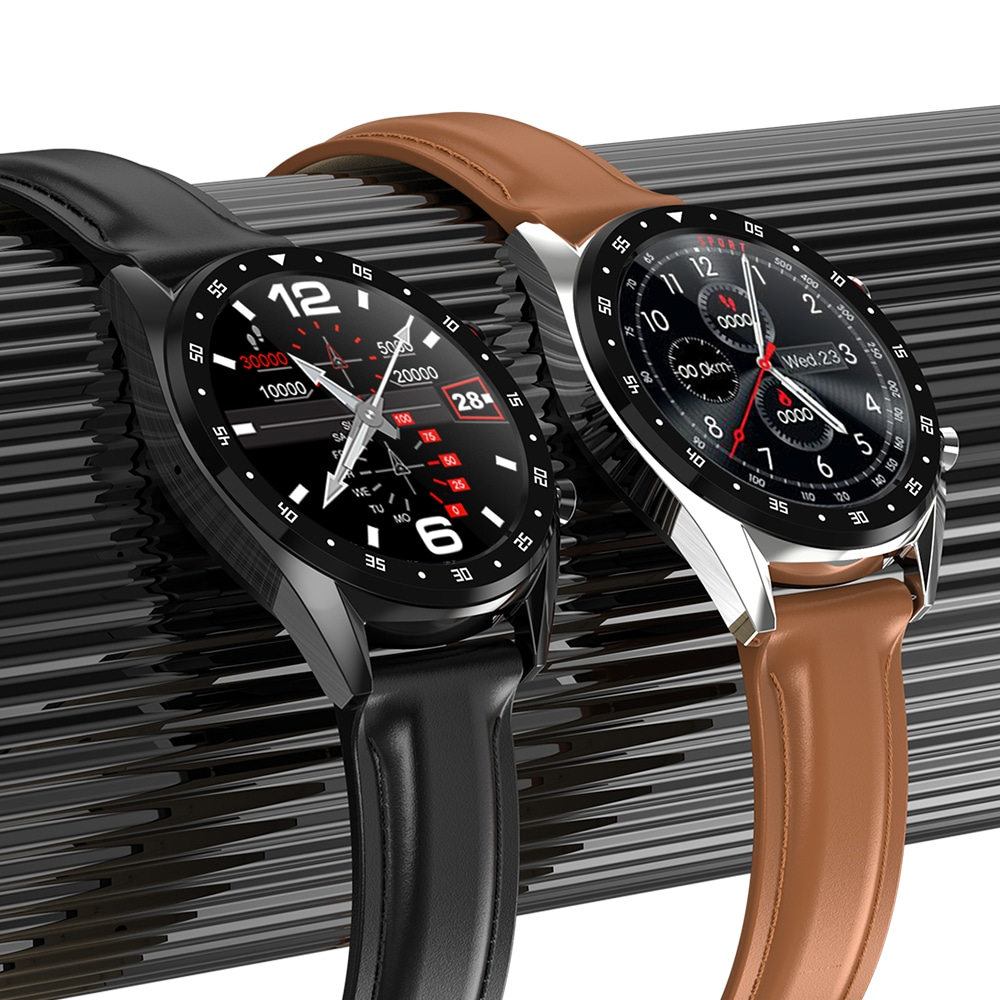 GX SmartWatch Review: brown and black versions