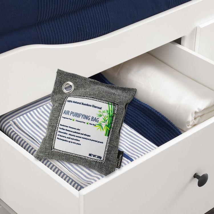 PureAir Max Review: the bag inside the closet