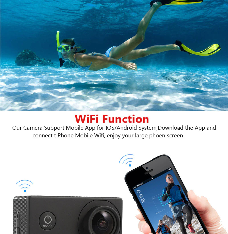 RealAction Pro Review: wifi function