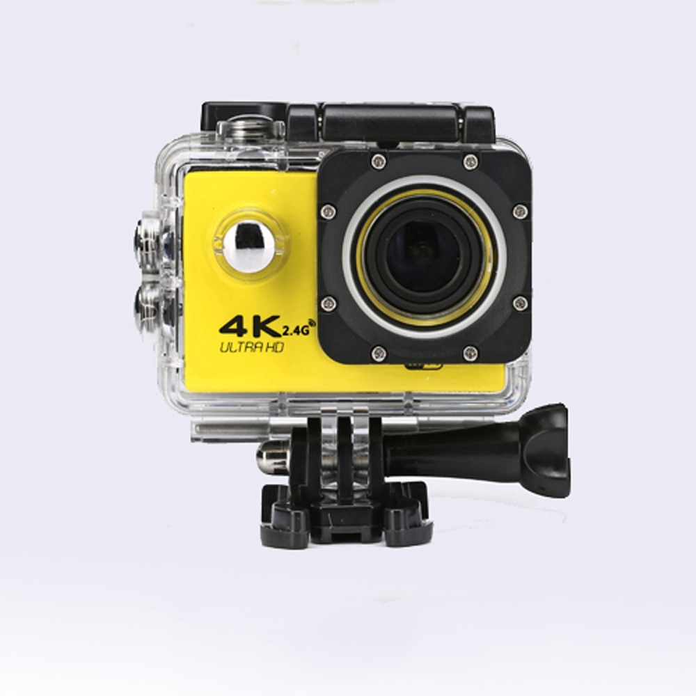 RealAction Pro Review: the camera in yellow